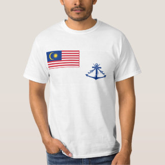 Bandera naval de Malasia, Malasia Camisas