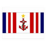 Bandera naval de Mauricio Tarjetas Postales
