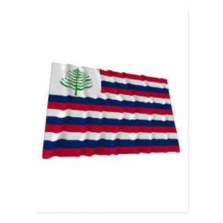 Bandera naval de Nueva Inglaterra Postales