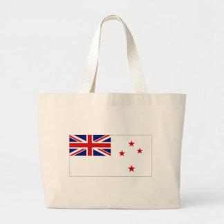Bandera naval de Nueva Zelanda Bolsa Lienzo