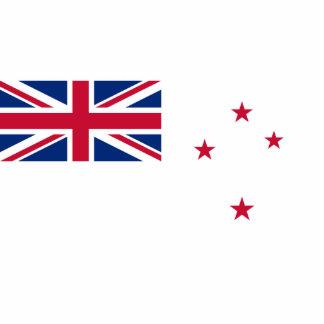 Bandera naval de Nueva Zelanda, Nueva Zelanda Escultura Fotográfica