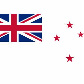 Bandera naval de Nueva Zelanda, Nueva Zelanda Escultura Fotografica