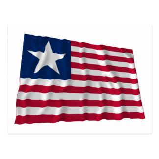 Bandera naval de Tejas Postal