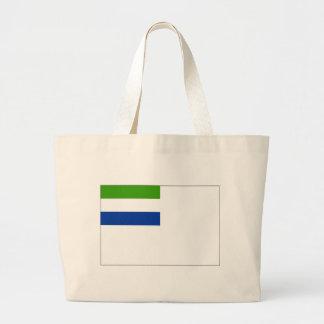 Bandera naval del Sierra Leone Bolsas De Mano
