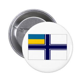 Bandera naval del vestido de la bandera de Ucrania Pin
