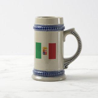 Bandera naval Italia, Italia Taza