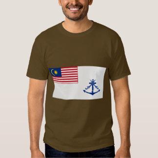 Bandera naval Malasia, Malasia Remeras