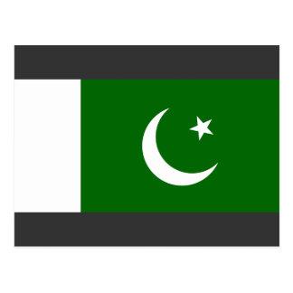 Bandera naval Paquistán, Paquistán Tarjeta Postal