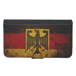 Bandera negra de Alemania del Grunge
