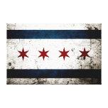 Bandera negra de Chicago del Grunge