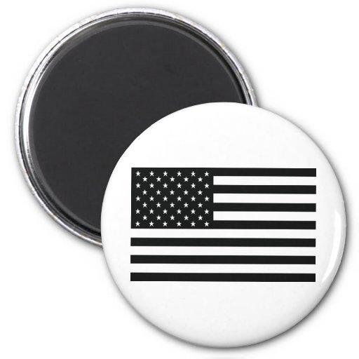 bandera negra de obama América los E.E.U.U. Imanes De Nevera