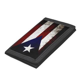 Bandera negra de Puerto Rico del Grunge