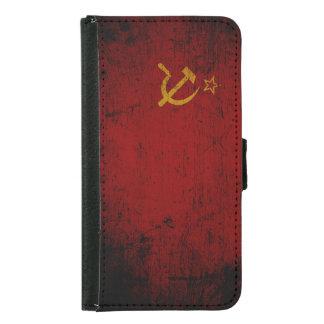 Bandera negra de Unión Soviética del Grunge
