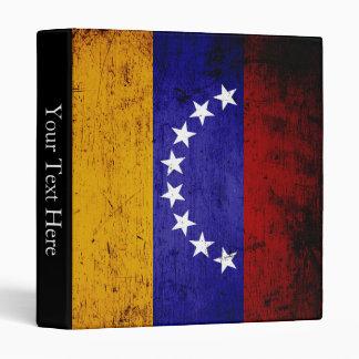 Bandera negra de Venezuela del Grunge