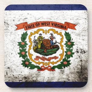 Bandera negra del estado de Virginia Occidental Posavaso