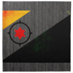 Bandera nerviosa moderna de Bonairian Servilletas Imprimidas