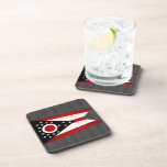 Bandera nerviosa moderna de Ohioan Posavasos De Bebida