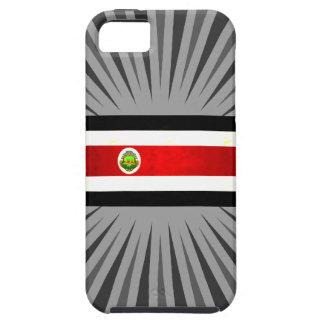 Bandera nerviosa moderna de Rican de la costa iPhone 5 Case-Mate Protectores