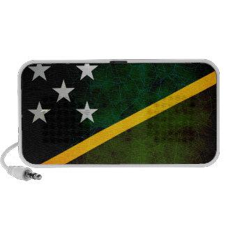 Bandera nerviosa moderna del isleño de Solomon iPhone Altavoz