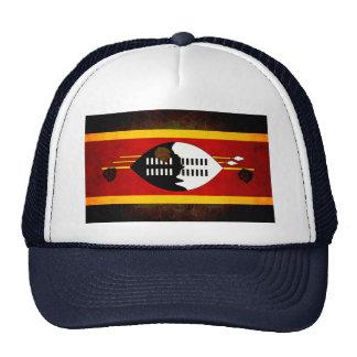 Bandera nerviosa moderna del Swazi Gorras