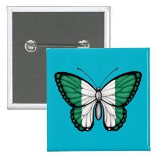 Bandera nigeriana de la mariposa