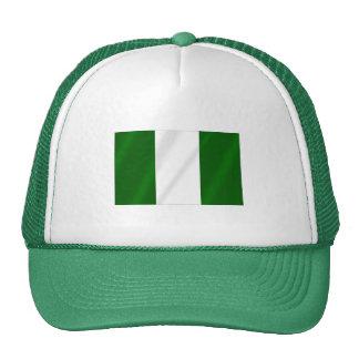 Bandera nigeriana de Nigeria Gorra
