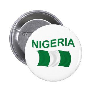 Bandera nigeriana pins
