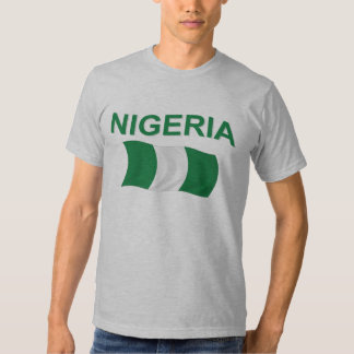 Bandera nigeriana polera