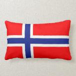 Bandera noruega almohadas