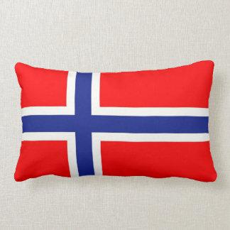 Bandera noruega cojín