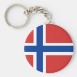 Bandera noruega de encargo (Norske Flagg) Llavero Personalizado