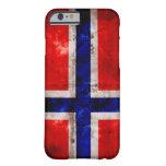 Bandera noruega funda de iPhone 6 barely there