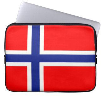 Bandera noruega funda ordendadores
