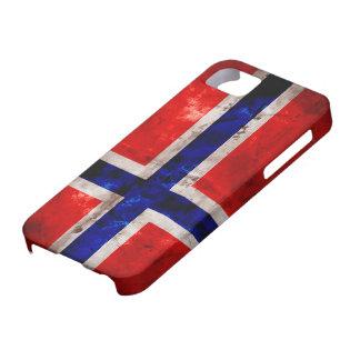 Bandera noruega iPhone 5 carcasa