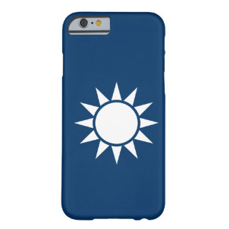 "Bandera ""obra clásica "" de Taiwán Funda De iPhone 6 Barely There"