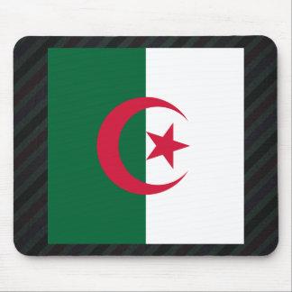 Bandera oficial de Argelia en rayas Mousepads
