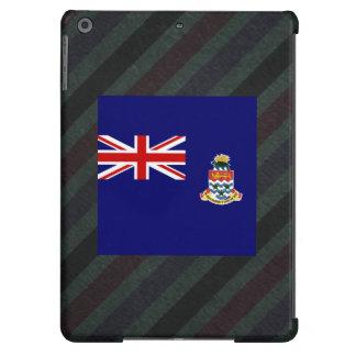 Bandera oficial de las Islas Caimán en rayas Funda Para iPad Air