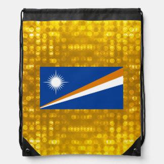 Bandera oficial de Marshallese Mochilas
