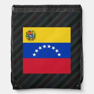 Bandera oficial de Venezuela en rayas Mochila