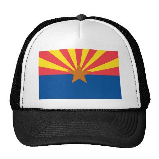 Bandera oficial del estado de Arizona Gorros Bordados