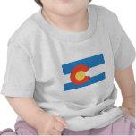Bandera oficial del estado de Colorado Camisetas