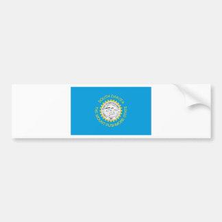 Bandera oficial del estado de Dakota del Sur Pegatina Para Auto