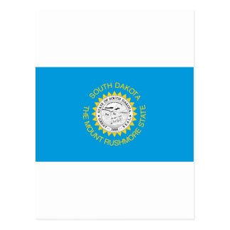 Bandera oficial del estado de Dakota del Sur Tarjetas Postales