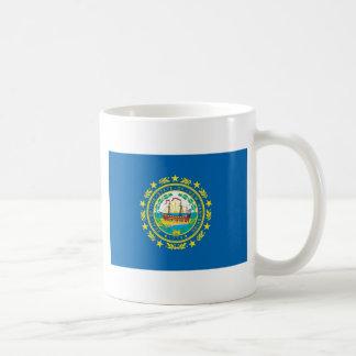Bandera oficial del estado de New Hampshire Taza De Café