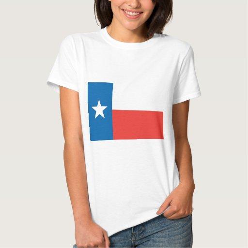 Bandera oficial del estado de Tejas Tshirt