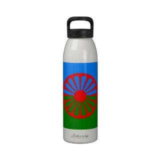 Bandera oficial del gitano del Romany Botella De Beber