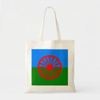 Bandera oficial del gitano del Romany Bolsa Tela Barata