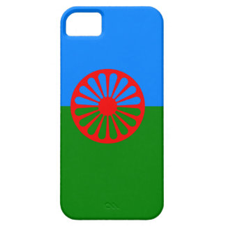 Bandera oficial del gitano del Romany iPhone 5 Carcasa