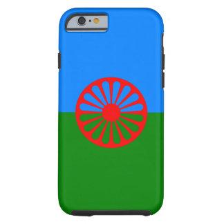 Bandera oficial del gitano del Romany Funda De iPhone 6 Tough