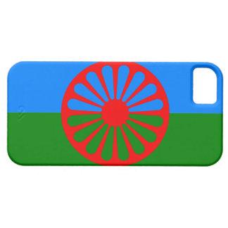 Bandera oficial del gitano del Romany iPhone 5 Protector